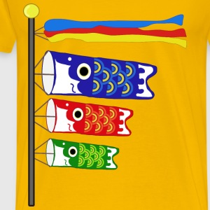 Koinobori Carp Streamers - Men's Premium T-Shirt