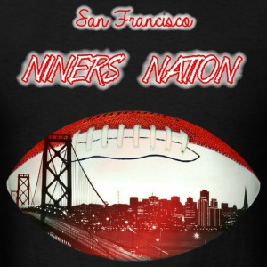 NINERS NATION T-Shirts - Men's T-Shirt