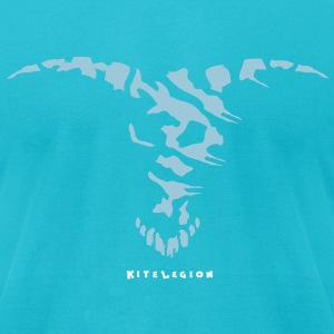 kitelegion_vec_3c_kite_bull_good T-Shirts - Men's T-Shirt by American Apparel