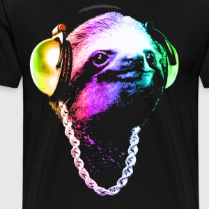 Sloth (Rainbow B-Boy Style) - Men's Premium T-Shirt