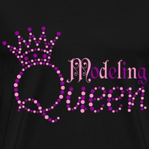 Modeling Queen T-Shirts - Men's Premium T-Shirt
