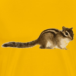 Chipmunk (Siberian) - Men's Premium T-Shirt