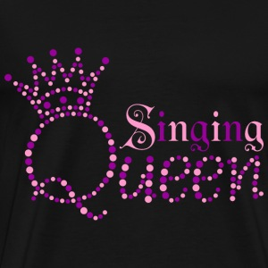 Singing Queen T-Shirts - Men's Premium T-Shirt