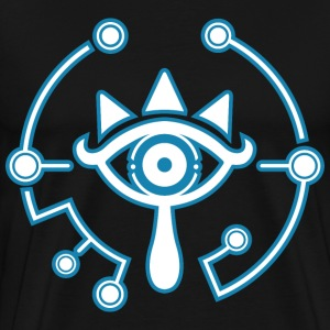 sheikah blue 1 - Men's Premium T-Shirt