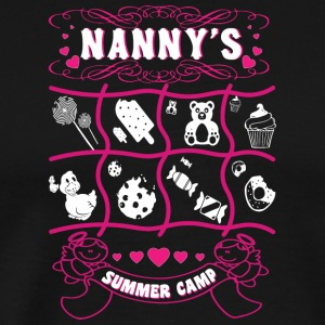 Nanny's Summer Camp T Shirt - Men's Premium T-Shirt
