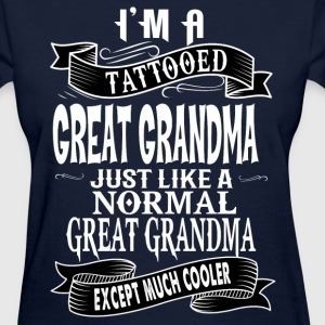 TATTOOED GREAT GRANDMA T-Shirts - Women's T-Shirt