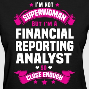 Financial Reporting Analyst Tshirt - Women's T-Shirt