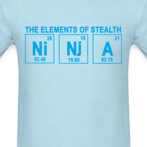 elements_of_stealth_ninja_ - Men's T-Shirt