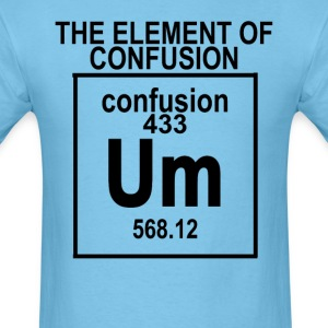 the_element_of_confusion_tshirt_ - Men's T-Shirt