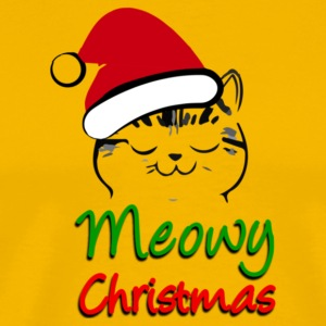Meowy Christmas - Men's Premium T-Shirt