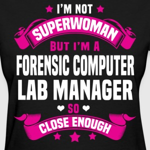 Forensic Computer Lab Manager Tshirt - Women's T-Shirt