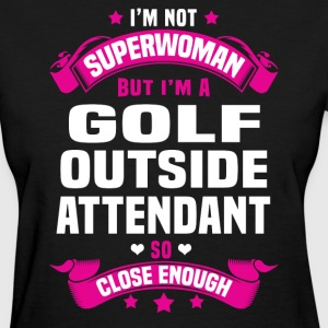 Golf Outside Attendant T-Shirts - Women's T-Shirt