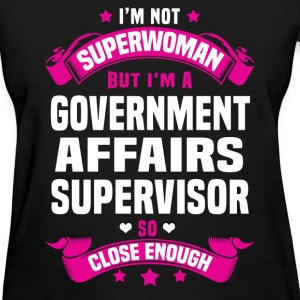 Government Affairs Supervisor T-Shirts - Women's T-Shirt