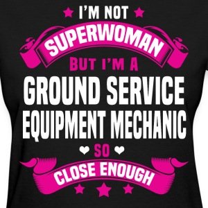 Ground Service Equipment Mechanic T-Shirts - Women's T-Shirt