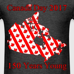 Canada Flags 150 - Men's T-Shirt