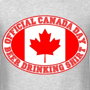 OFFICIAL CANADA DAY BEER DRINKING SHIRT - Men's T-Shirt