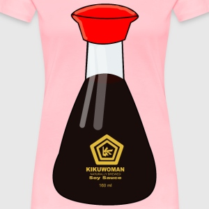 Soy Sauce Bottle - Women's Premium T-Shirt