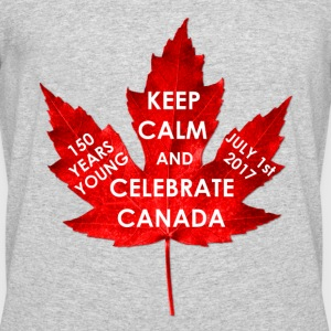 KEEP CALM 150 YEARS CANADA - Men's 50/50 T-Shirt