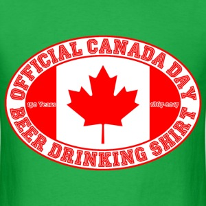 OFFICIAL CANADA DAY BEER DRINKING SHIRT 150 - Men's T-Shirt