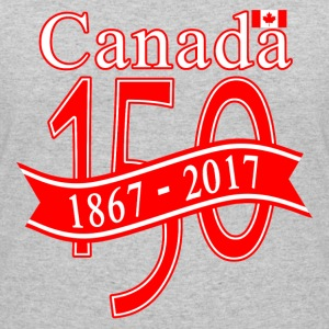 CANADA 150 RIBBON - Women's 50/50 T-Shirt