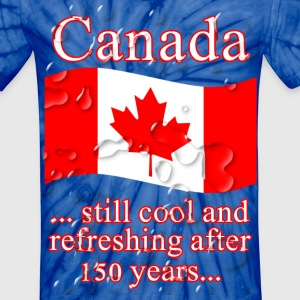 CANADA COOL AND REFRESHING - Unisex Tie Dye T-Shirt