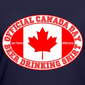 OFFICIAL CANADA DAY BEER DRINKING SHIRT 150 - Women's 50/50 T-Shirt