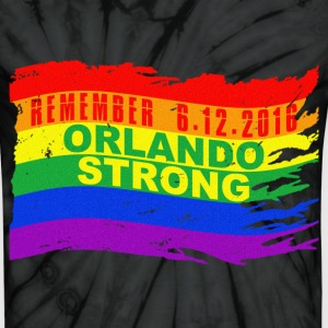 ORLANDO STRONG REMEMBER WAVE - Unisex Tie Dye T-Shirt
