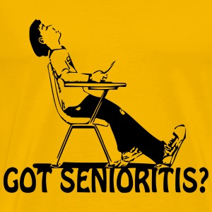Senioritis - Men's Premium T-Shirt