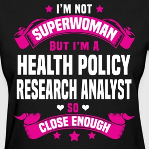 Health Policy Research Analyst T-Shirts - Women's T-Shirt