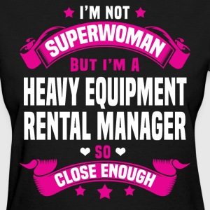 Heavy Equipment Rental Manager T-Shirts - Women's T-Shirt