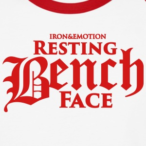 RESTING BENCH FACE T-Shirts - Baseball T-Shirt