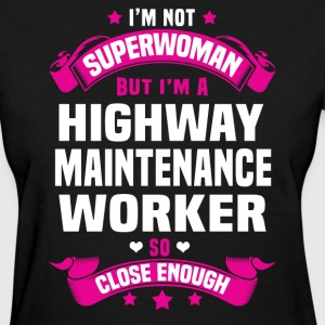 Highway Maintenance Worker T-Shirts - Women's T-Shirt