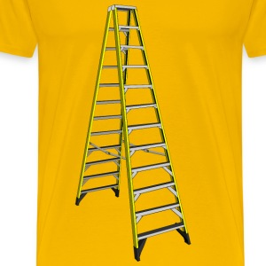 Large Yellow Ladder - Men's Premium T-Shirt
