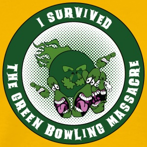 The green bowling massacre - Men's Premium T-Shirt