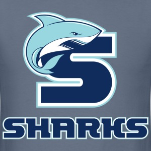 Sharks Team Logo - Men's T-Shirt