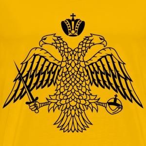 double headed eagle byzan - Men's Premium T-Shirt
