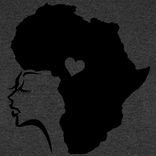 African Woman Hair Love