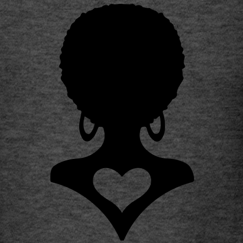 African lady heart Love