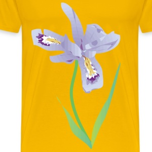 Dwarf Lake Iris - Men's Premium T-Shirt