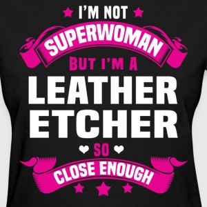 Leather Etcher T-Shirts - Women's T-Shirt