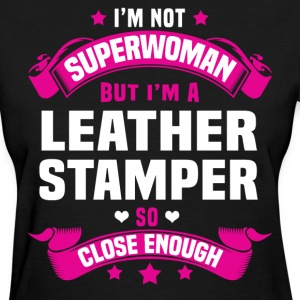 Leather Stamper T-Shirts - Women's T-Shirt