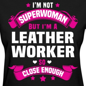 Leather Worker T-Shirts - Women's T-Shirt