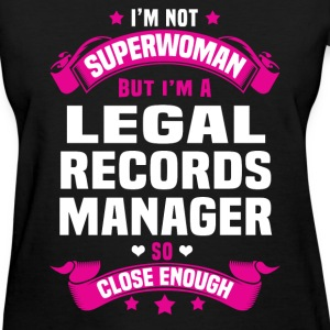 Legal Records Manager T-Shirts - Women's T-Shirt