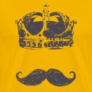 Mustache King - Men's Premium T-Shirt