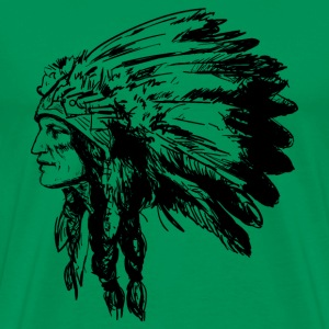 American Native Head - Men's Premium T-Shirt