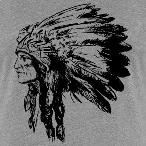 American Native Head - Women's Premium T-Shirt
