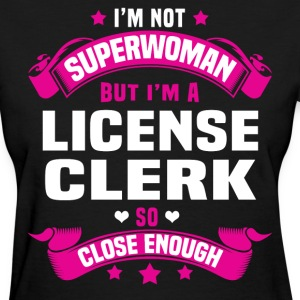License Clerk T-Shirts - Women's T-Shirt