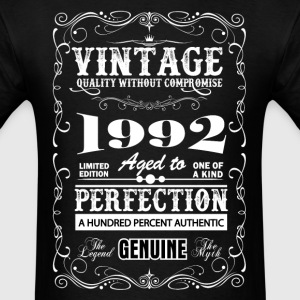 Premium Vintage 1992 Aged To Perfection T-Shirts - Men's T-Shirt