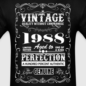 Premium Vintage 1988 Aged To Perfection T-Shirts - Men's T-Shirt