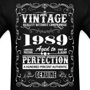 Premium Vintage 1989 Aged To Perfection T-Shirts - Men's T-Shirt